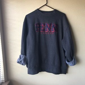 Vintage Penn Quakers Baggy Sweatshirt